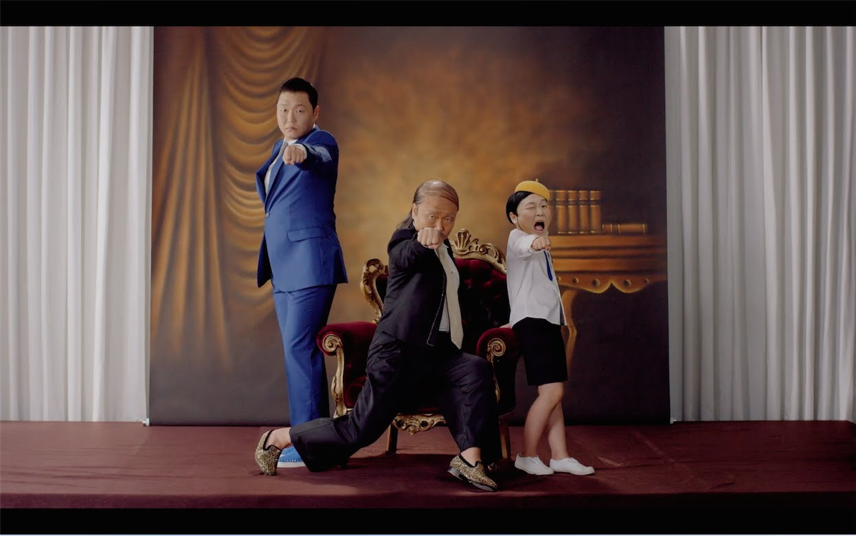 PSY - DADDY (ft. CL of 2NE1)