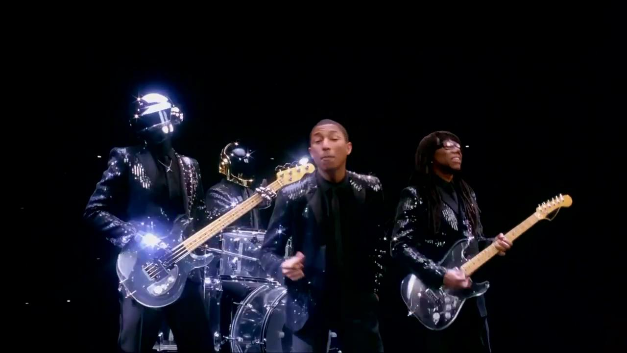 Daft Punk - Get Lucky (feat. Pharrell Williams, Nile Rodgers)