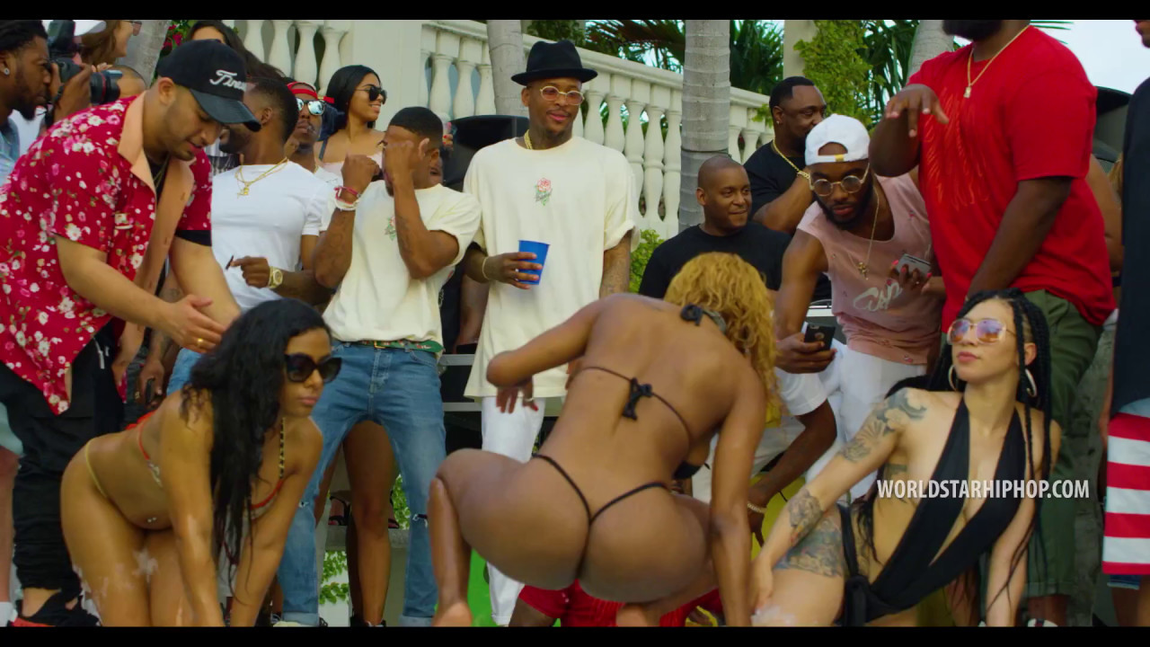 "YG Feat. Dj Mustard ""Pop It, Shake It"" (Uncut)"